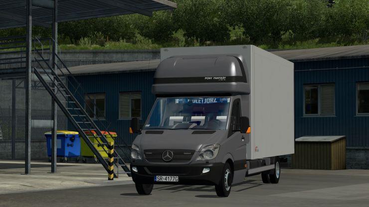 Mercedes-Benz Sprinter Izoterma - ETS2 Mod | Mod for Euro
