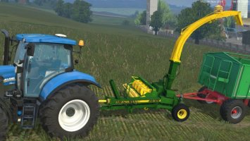 JOHN DEERE 3765 TRAILED FORAGE HARVESTER v2 LS15