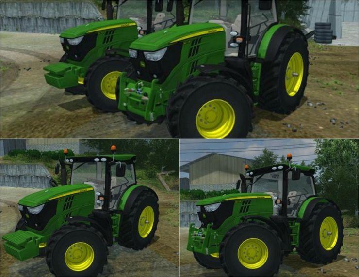 John Deere 6R Pack New Tractor V2.6 LS2013