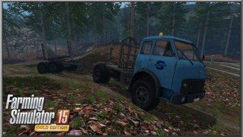 MAZ 509 Forestry Set