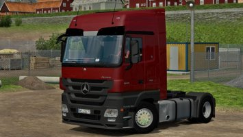 Mercedes MP3 Actros 1844