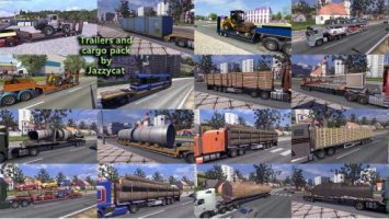 Trailers and Cargo Pack by Jazzycat v3.6.1 ETS2