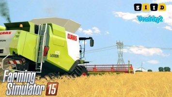 CLAAS LEXION 670, 670TT v1.1