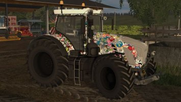 Fendt 936 Stickerbomb