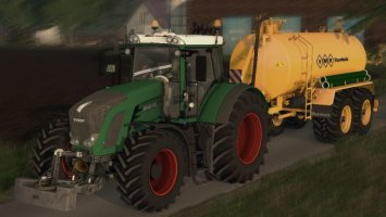 Fendt 936 With New AO LS15