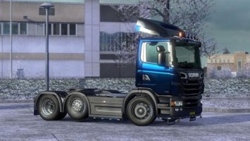 GTM P & G Series Cabs for RJL's Scania R & Streamline v2.1 ETS2