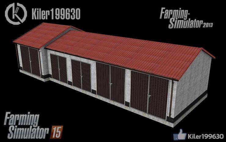 Nowy Garaż Kiler199630 Ls15 Mod Mod Do Farming Simulator 15 Ls