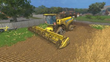 NEW HOLLAND CR9090 SMARTRAX LS15