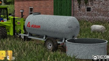 Agram water trailer