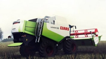 Claas Lexion 530 v2
