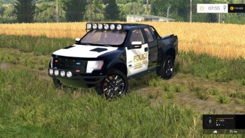 Ford F150 Police Raptor