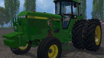 JOHN DEERE 4960 2WD FRONT LOADER