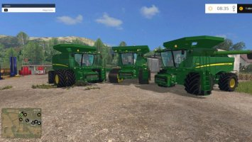 John Deere 690 Pack Wash LS15