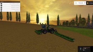 Krone BiG M 500 Wide Single Windrow ls15