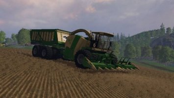 KRONE BIG X 650 CARGO BEASTPACK NEW EDITION COMBINE