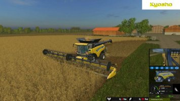 New Holland CR10.90 monitored
