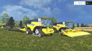 New Holland CR10.90 Monitored V2.0