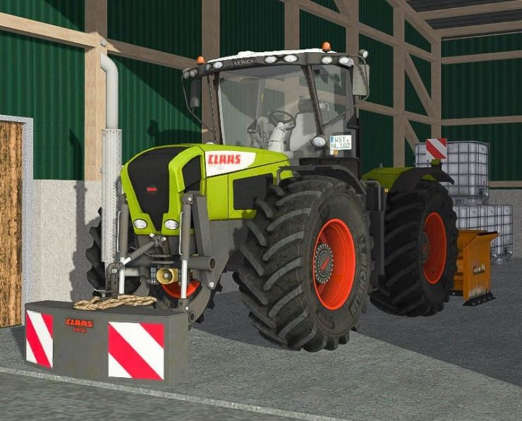 Claas Xerion 3300 Tracvc V3 5 Ls15 Mod Mod For