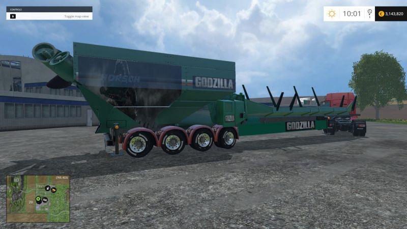 Lantmanen Fs Godzilla Ls15 Mod Mod For Landwirtschafts