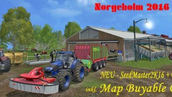 Norgeholm v1.4 / SoilMod & GMK-Mod & MBO