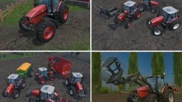 SAME FORTIS 190 MIT FRONTLADERKONSOLE & WECHSELBEREIFUNG TRACTOR V1.2