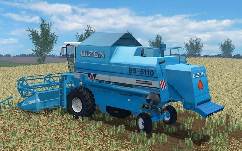 Bizon 5110 BS - LS15 Mod | Mod for Farming Simulator 15 | LS