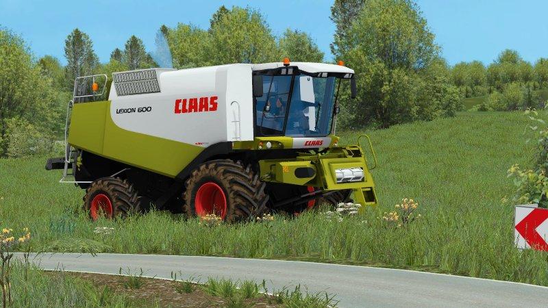 Claas Lexion 600 Pack LS15