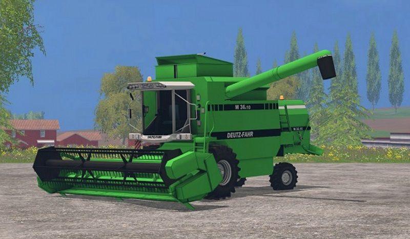 DEUTZ FAHR M 36.10  Green LS15