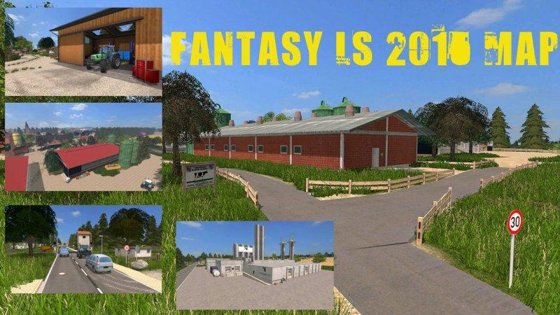 Fantasy LS 2015 Map - LS15 Mod | Mod For Landwirtschafts Simulator 15 ...