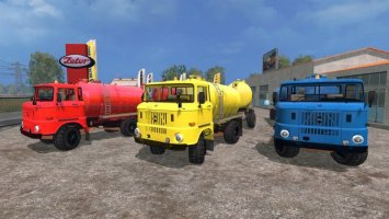 IFA W50 Guelle + HW 80 Guelle LS15