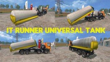 IT Runner Universal Tank