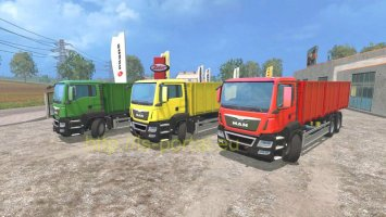 MAN Grain Gearbox & Trailer ls15