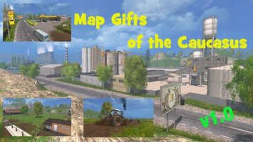 Map Gifts of the Caucasus