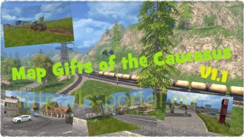 Map Gifts of the Caucasus v1.1