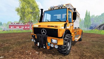 MERCEDES-BENZ UNIMOG [SPECIAL] CAR ls15