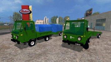 Multicar and Trailer ROS