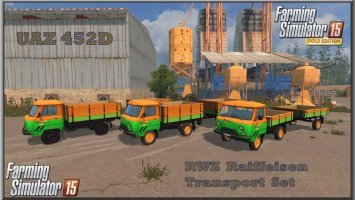 UAZ 452D RWZ Raiffeisen Transport Set ls15