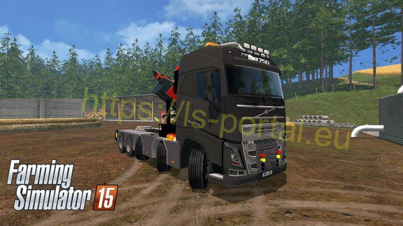 Volvo Trucks Portal Volvo Fh4 Frame Flt Semi V2 Ls15 Mod