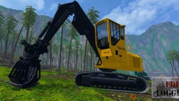 FDR LOGGING - TIGERCAT 875 LOG LOADER LS15