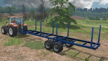 LOG TRAILER WITH AUTOLOAD LS15