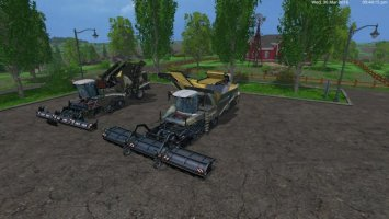 MARINE CAMOGRIMME MAXTRON 620 + GRIMME TECTRON 415 LS15