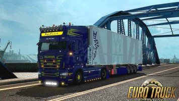 Scania Blue & Yellow Combo Pack + Accessory ETS2
