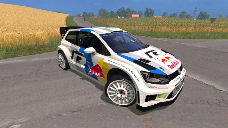 vw polo wrc red bull mod mod for farming simulator 15 ls portal. Black Bedroom Furniture Sets. Home Design Ideas
