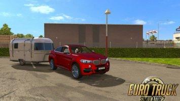 BMW X6M + Bambi-trailer v.3.0 ets2