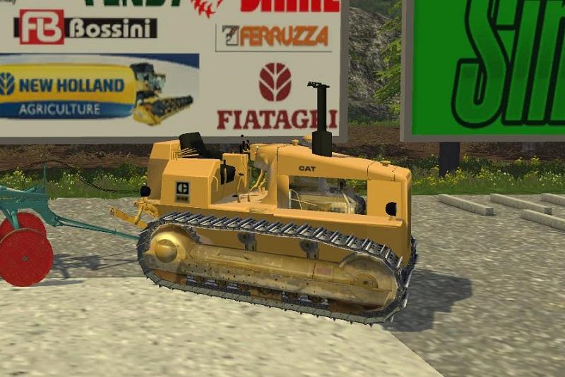 Caterpillar D4e V2 Ls15 Mod Mod For Farming Simulator