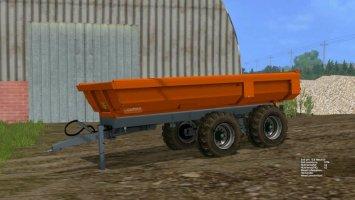 Laumetris construction trailer PTL - 10 S LS15