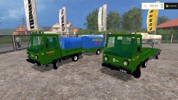 Multicar and Trailer ROS Camion Transport V0.1 LS15