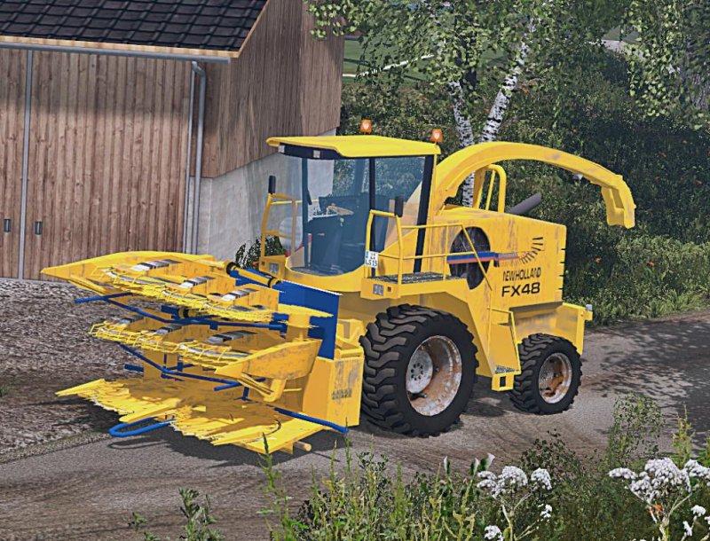 Außergewöhnlich New Holland FX 48 v 1.1 - LS15 Mod | Mod for Farming Simulator 15 #TB_46