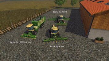 FS15 Big Mods Pack V10 Krone Pack LS15