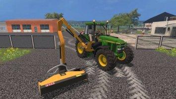 John Deere 7810 Municipal Mower